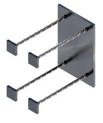 Закладная деталь МН117 — МН126