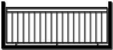 Ограждение балкона БГМ2