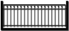 Ограждение балкона БГМ3