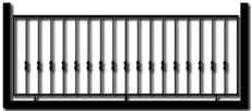 Ограждение балкона БГМ4