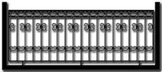 Ограждение балкона БГМ5