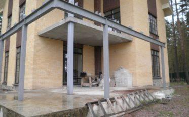 Изготовление металлоконструкций для загородного дома