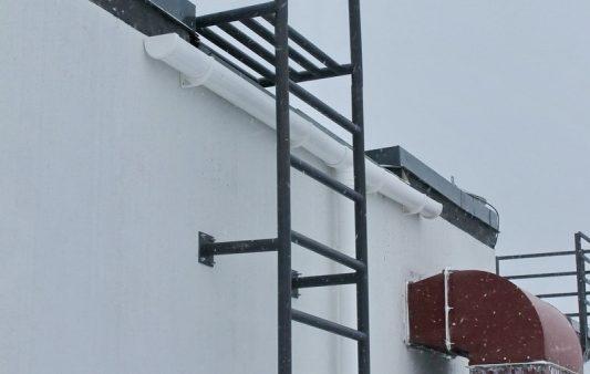 Пожарные лестницы — производство и установка