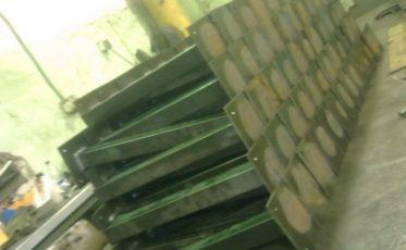 Столбы для заборов, опоры балконов — производство