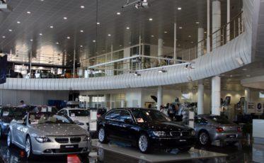 Нержавеющие ограждения для салона BMW