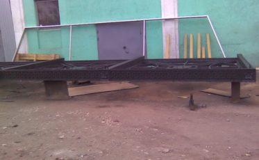 Изготовление и установка стального навеса