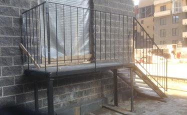 Металлическая лестница — производство и установка